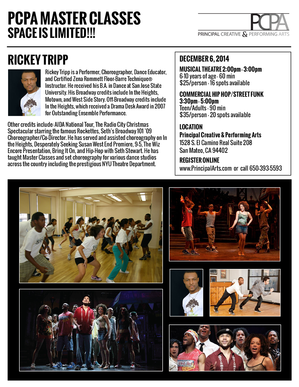 Rickey Tripp - Dancer, Choreographer, Instructor
