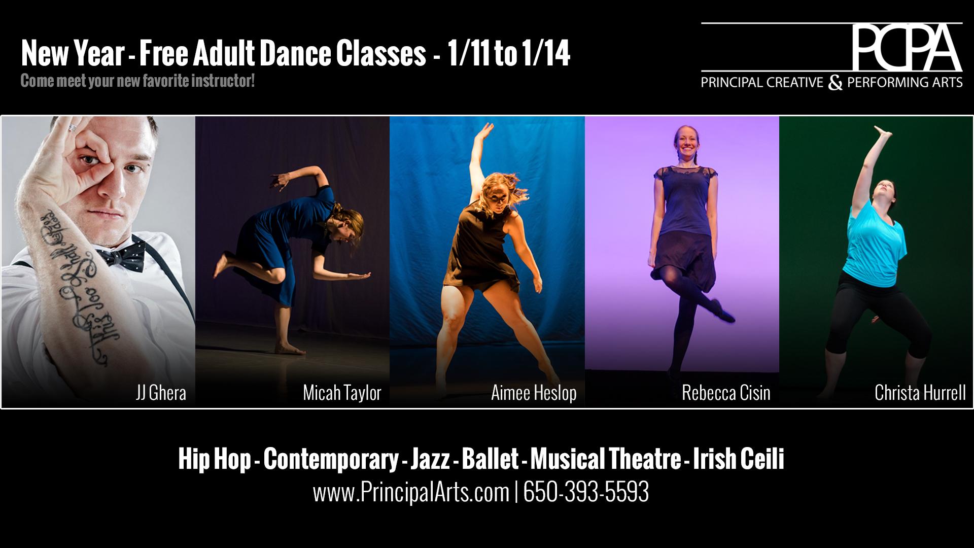 Free Adult Dance Classes