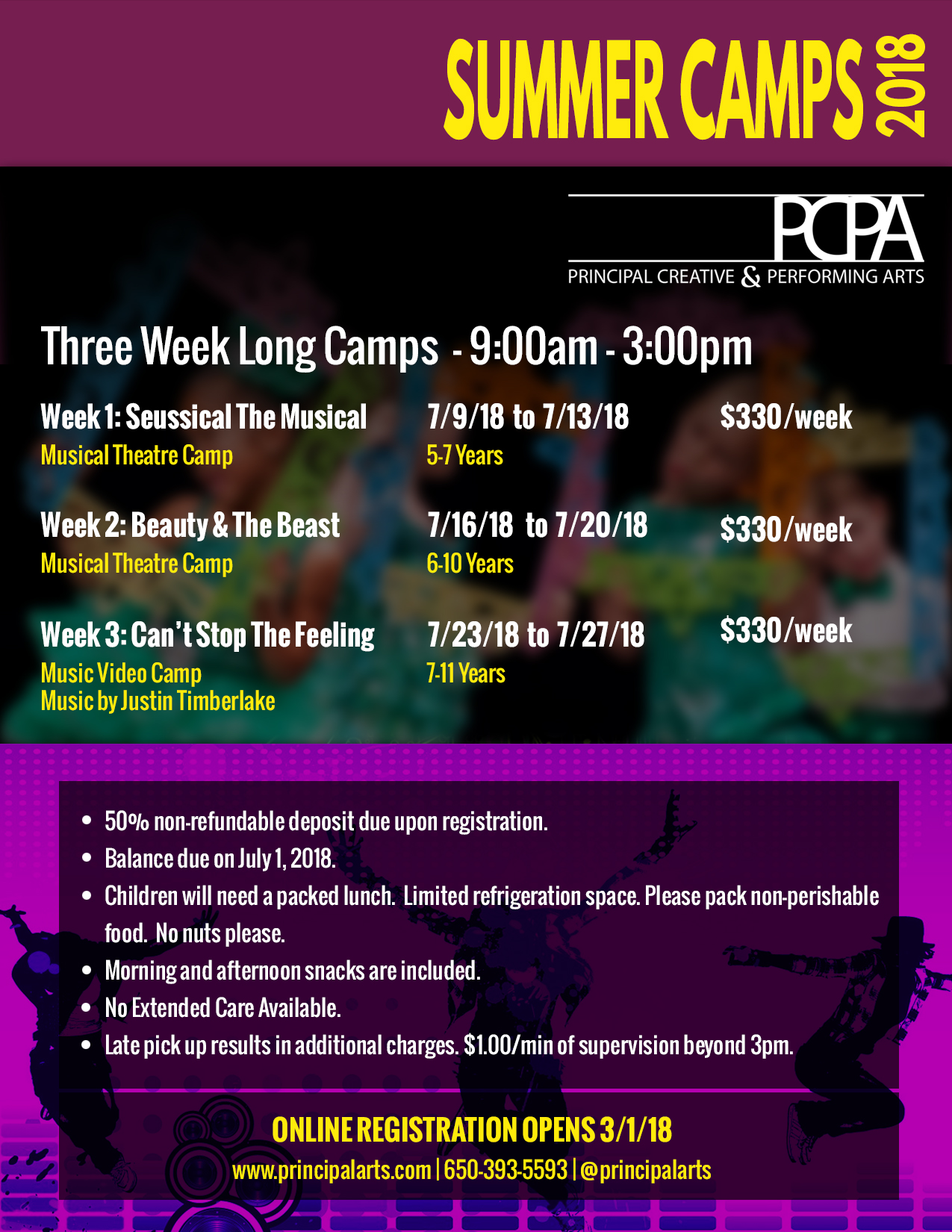 2016 Summer Dance Camps / Dance Intensive